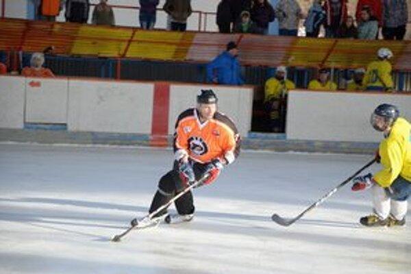 V drese BSS. Kristián Kováč hral za BSS Rožňava.