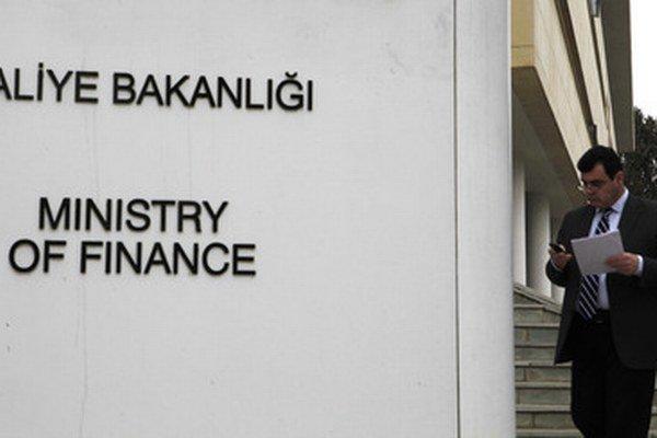Ministerstvo financií v Nikózii.