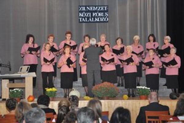 Spevácke zbory. Predstavili sa zbory z okresu a partnerských miest.