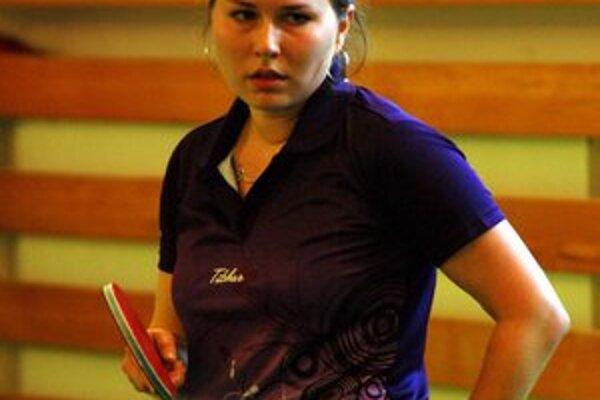Stolná tenistka Janka Gotthardtová.
