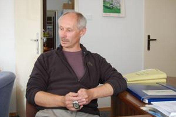 Konateľ. František Pompura hovorí, že výrobná linka v Jelšave bude. Čaká však na výsledky testovania v Moskve.