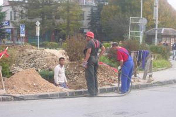 Rekonštrukcia. Projekt počíta aj s obnovou chodníkov.