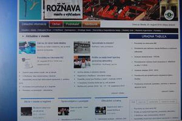 Nová stránka. Je prístupná v novej podobe od 17. augusta.