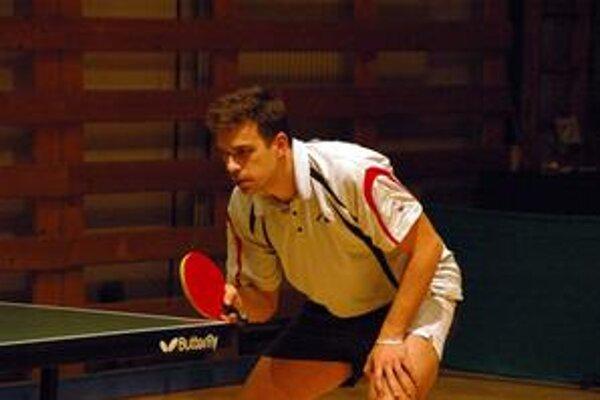 Po piatich rokoch. Víťaz turnaja v Gemerskej Polome Peter Šereda.