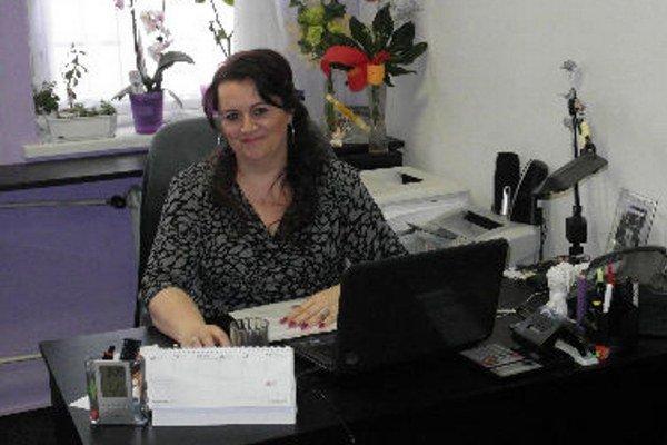 Riaditeľka ZUŠ Janette Pichaničová.