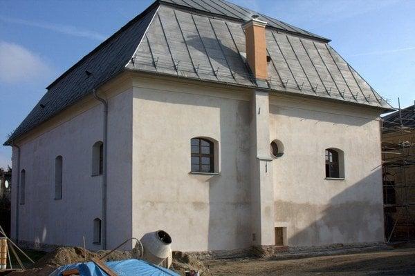 Bardejovská synagóga.
