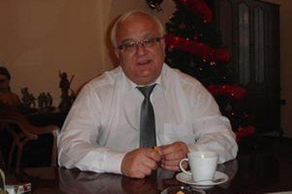 Boris Hanuščak. Bardejovský primátor.
