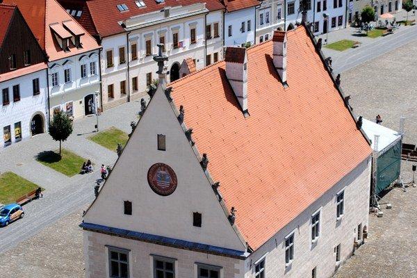 Mesto Bardejov má bohatú históriu.