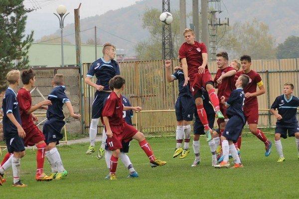 Futbalisti U-15. Z Trebišova priviezli víťazstvo.