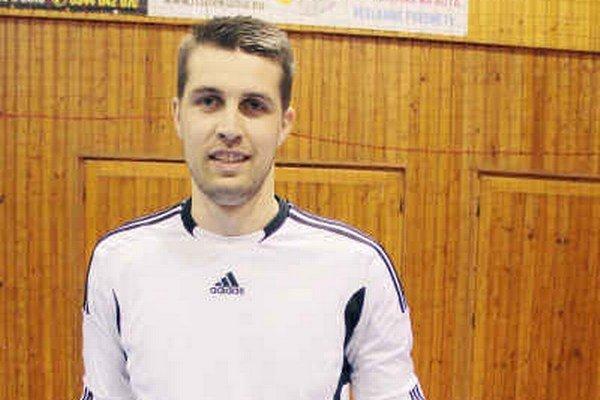 Brankár Pangrác. Na turnaji mal dobrú formu.