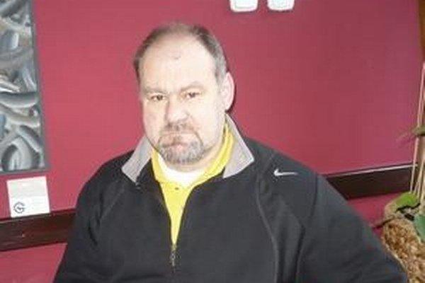 Tréner Petr Křemen.