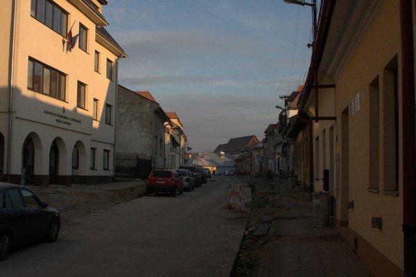 Stöcklova ulica. Druhá etapa rekonštrukcie stála 242–tisíc eur.