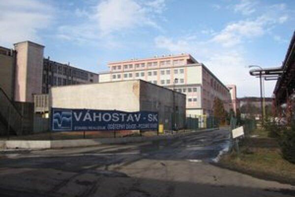 Hnedý priemyselný park v Bardejove.