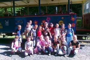 Školáci na výlete. Deti z Kračúnoviec mali zážitok.
