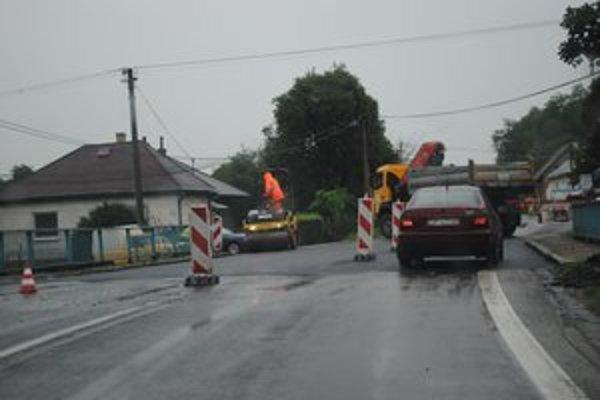 Oprava mosta v Breznici. Dočkali sa jeho opravy.