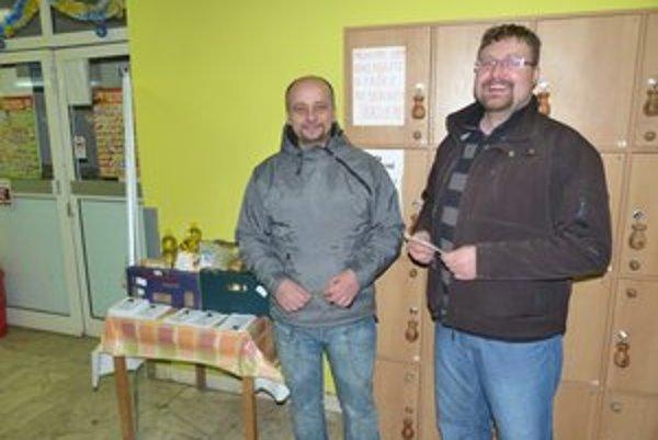 Ľudovít Billy a Peter Harčár. Dobrovoľníci veria, že sa do Saleziánskeho kila opäť zapoja ešte v budúcom roku.