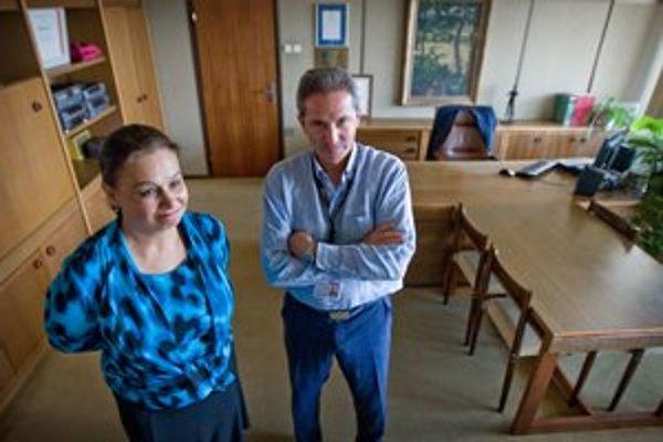 Miloslava Zemková a Václav Mika sa stretli v budove rozhlasu. Nový šéf RTVS  sa chce presťahovať do televízie.