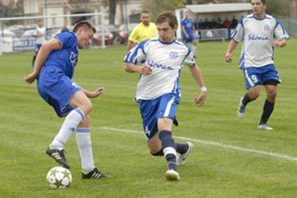 Strelec. Naposledy sa gólovo presadil v tíme Giraltoviec aj Pankuch (úplne vpravo).