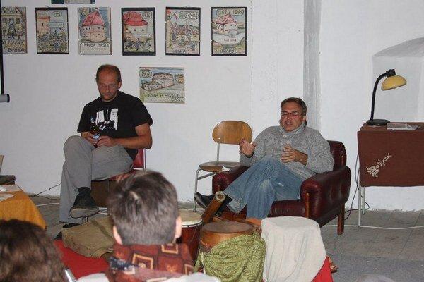 Jarmočné baštovanie v Hrubej bašte. Diskusia o projekte Zelený Bardejov.