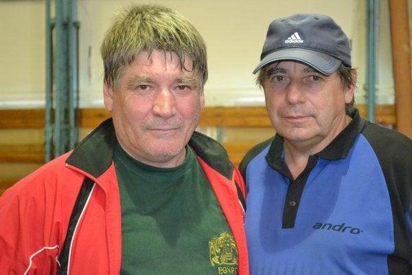 Janko Sojčák (vľavo) a Martin Gumáň. Zakladatelia veteránskeho turnaja.