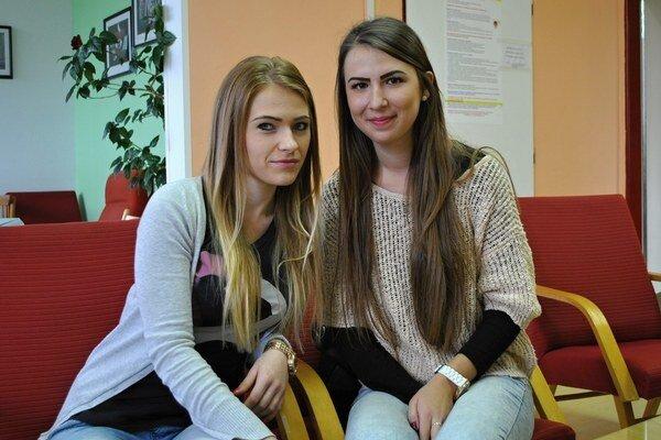 Janka a Anna sú spolužiačky. Z humenských stredoškolákov sa zapojili do kampane medzi prvými.