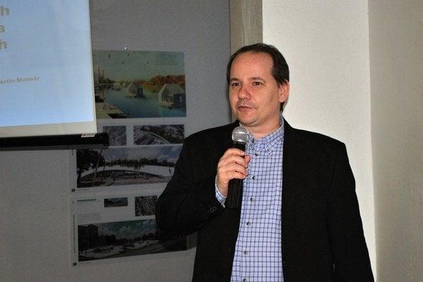 Martin Molnár. Materiál do knihy zbieral vyše 16 rokov.