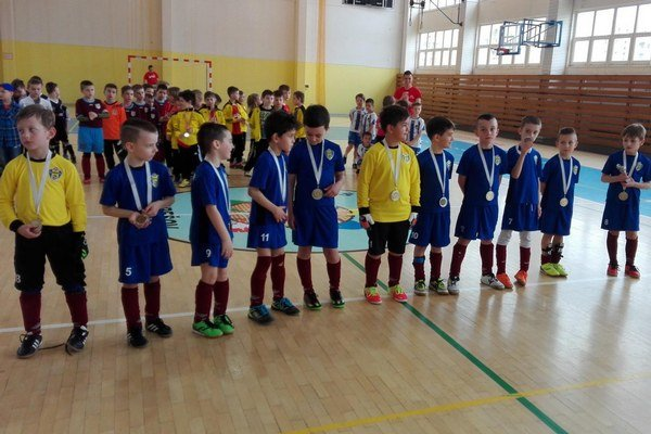 FK Humenné, kategória U8. Dobré výkony podali obaja brankári.