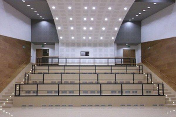 Nová sála v Dome kultúry v Kanianke.