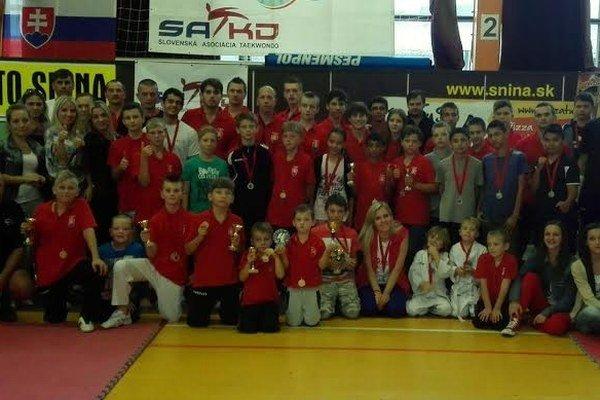 Black Tiger Snina. Najlepší taekwondový klub v Slovenskom pohári 2014.