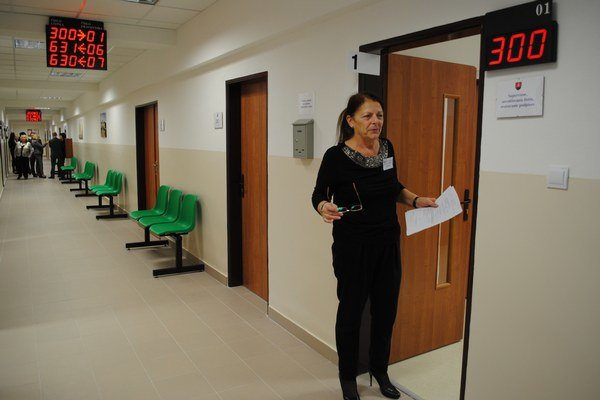 Mária Doničová, dlhoročná pracovníčka úseku matrík.