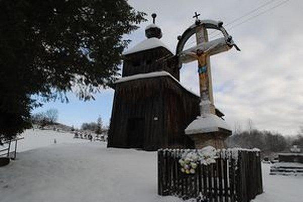 Drevený chrám v Šmigovci.