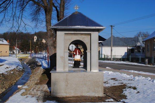 Kaplnka sv. Jána Nepomuckého prechádza obnovou.