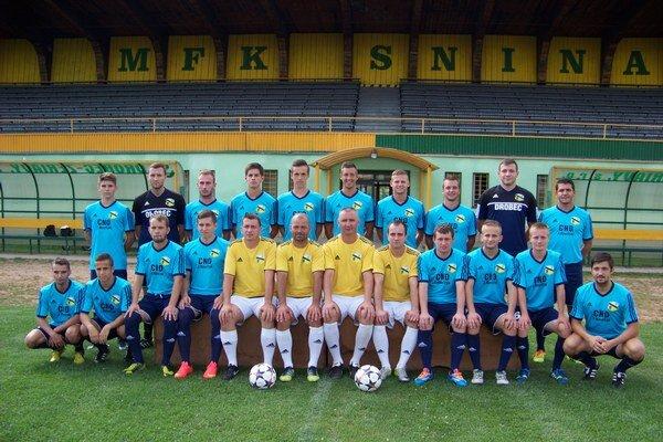 Sninskí futbalisti v sezóne 2014/15.