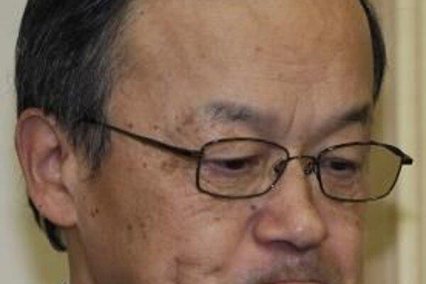 Prezident japonskej spoločnosti Olympus Šuiči Takajama. Foto - TASR
