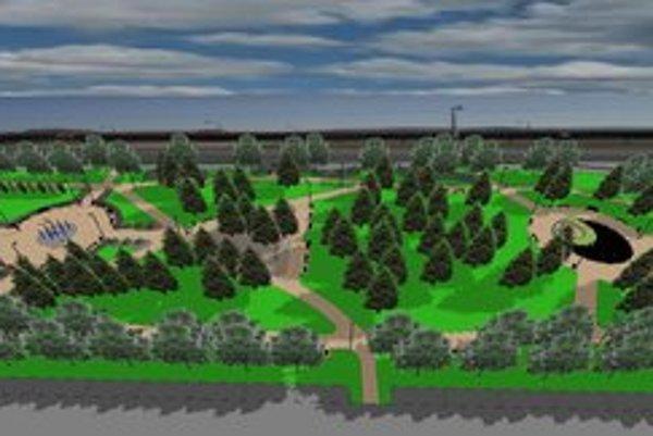 Park jednička. Takto má vyzerať podľa projektu.