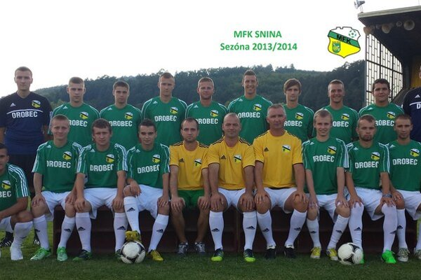 MFK Snina. Po jeseni na 4. mieste...
