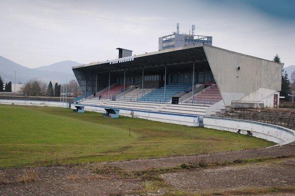 Futbalový štadión. Opravia ho z mestských i štátnych peňazí.
