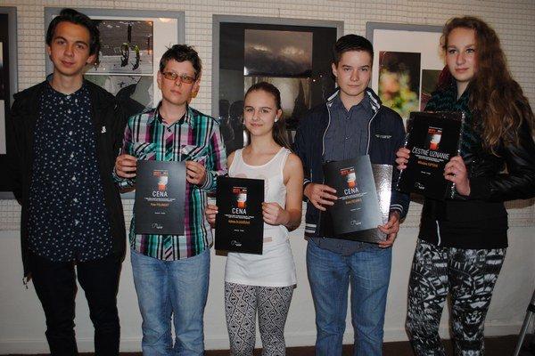 Nová generácia. Lukáš Miško (zľava), Peter Polanský, Alžbeta Dlugošová, Boris Fecenko a Miloslava Tuptová.