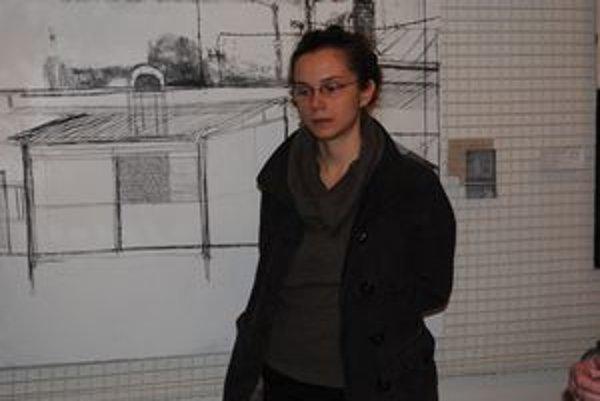 Osobitá autorka. Michalovčanka Jarmila Sabová–Džuppová vystavuje v Humennom.