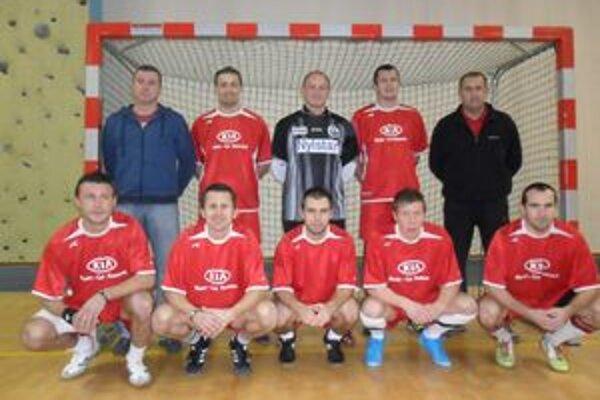 KIA Humenné. Víťazi sálovky 2010/2011.