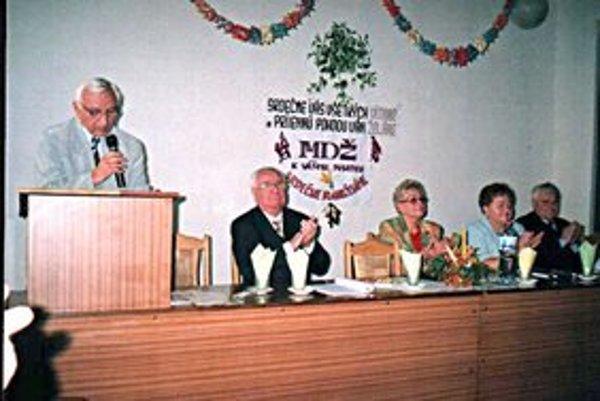 Dôchodcovia bilancovali. Výročná schôdza sa konala 8. marca.