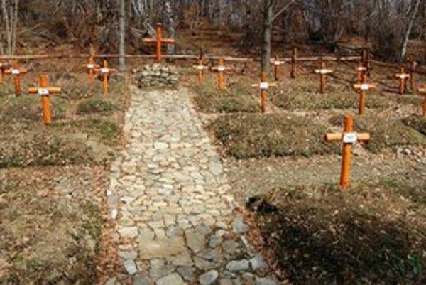 Výrava – kóta Pod kobylou. K obnoveným cintorínom by mohli budúcnosti pribudnúť aj obnovené zákopy a múzeum vo Výrave.
