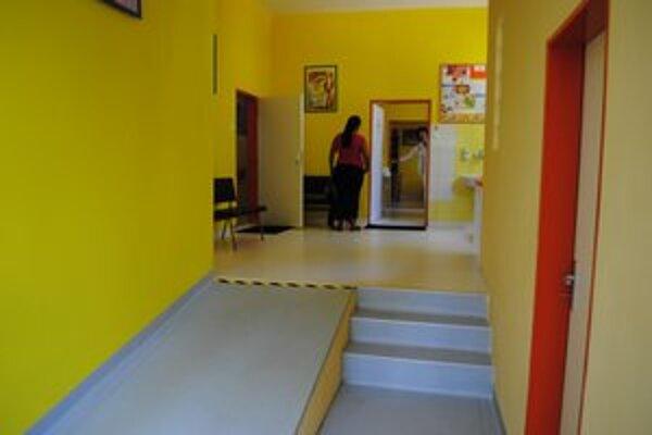Bezpečné a priestranné. Také sú priestory detského oddelenia po rekonštrukcii.