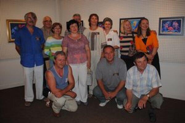 Účastníci plenéra Insita 2012 prišli zo štyroch krajín.