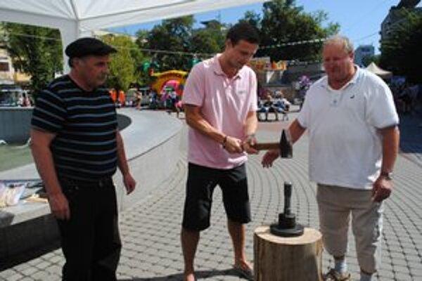 "Jaroslav Zelinka (vpravo) a Jaroslav Oravec dohiadali na ""minciarov""."