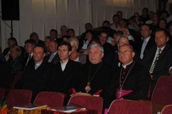 Duchovní. Arcibiskup Bernard Bober a mons. Ján Babjak.