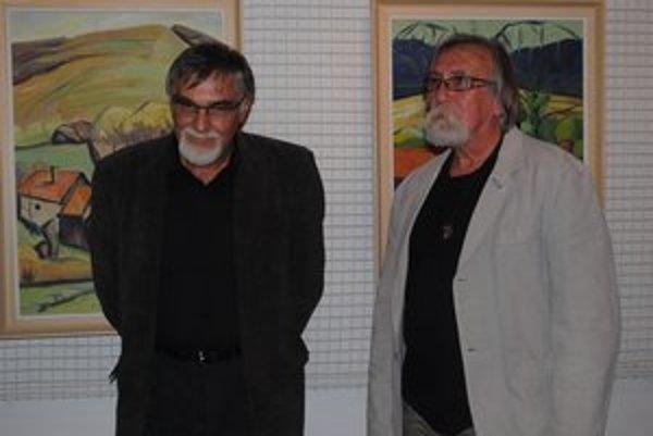 Žiak a učiteľ. Jozef Havaj (vľavo) a Tadeusz Blonski.