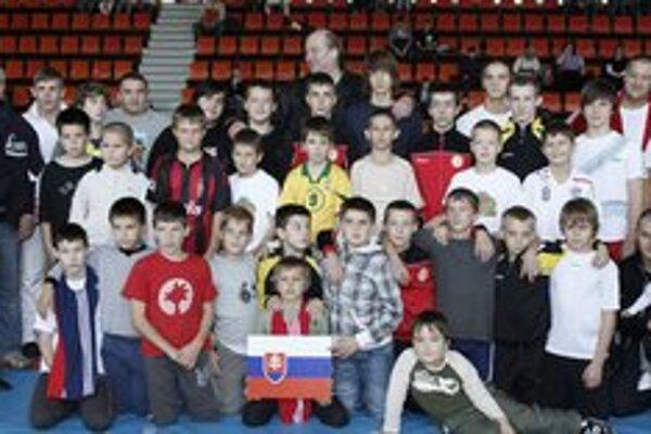Mladí borci. Talenty ZK Vihorlat Snina.