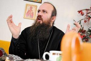 Peter Soroka, správca Pravoslávnej cirkvi v obciach Osadné a Hostovice na fare v Osadnom.