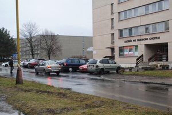 Miesto nehody v Humennom.
